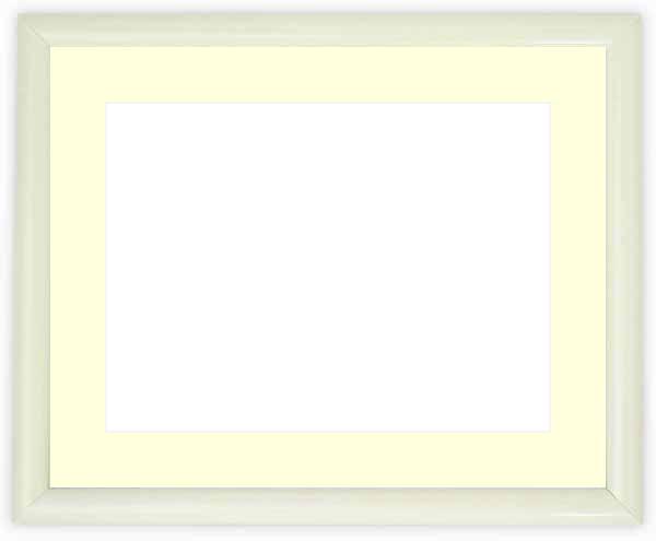 正面画像 商品名 水彩額 713/白 マット付 色 白 その他の色 黒 タメツヤ... 自社工房